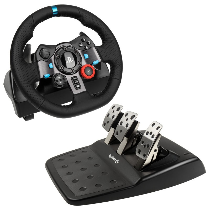 d711b5d40a6 Sony - Logitech G29 Driving Force Racing Wheel (PS4, PS3)   PlayOne